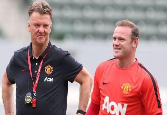 """Louis van Gaal và Rooney đập tan tin đồn """"chiến trạnh lạnh"""" ảnh 1"""