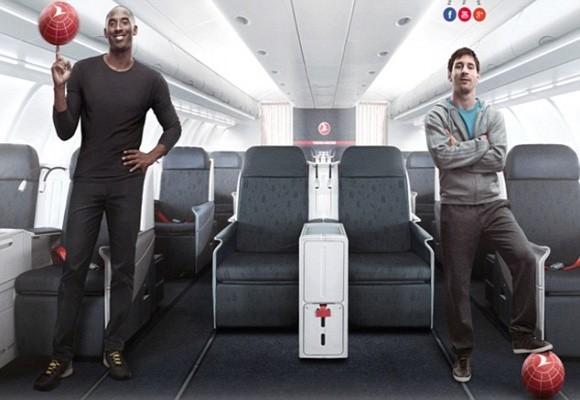 Turkish Airlines là đối tác lâu năm của Barca Messi và Kobe Bryant trong quảng cáo mới nhất của Turkish Airlines