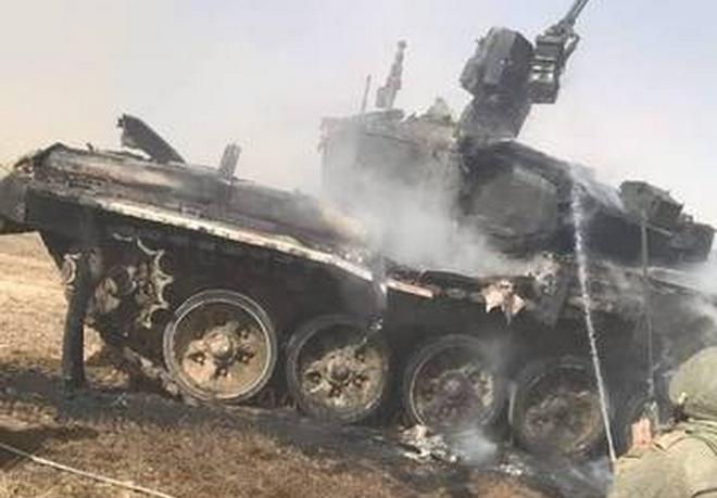 [Info] Loại tên lửa Liên Xô vừa khiến xe tăng T-90 Nga cháy đen ảnh 1