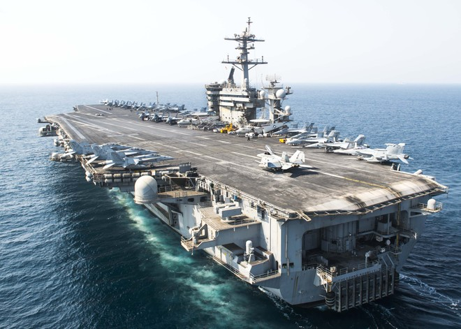 [ẢNH] Siêu tàu sân bay Mỹ trước nguy cơ bị vô hiệu hoá lần 2 bởi dịch Covid-19 ảnh 5