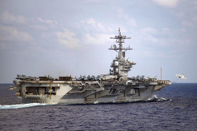 [ẢNH] Siêu tàu sân bay Mỹ trước nguy cơ bị vô hiệu hoá lần 2 bởi dịch Covid-19 ảnh 8