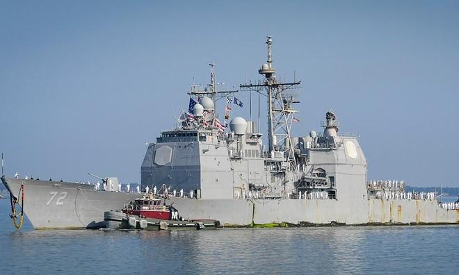 [Info] Tuần dương hạm Mỹ đột ngột phải quay đầu vì sự cố bất ngờ ảnh 2