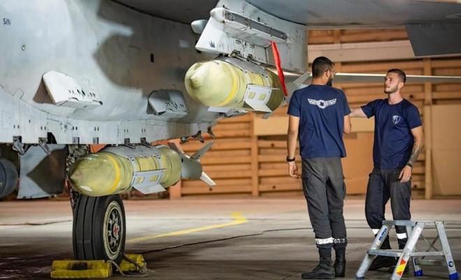 [Info] Chiến đấu cơ hạng nặng Israel gắn đầy bom nhằm thẳng dải Gaza xuất kích ảnh 3