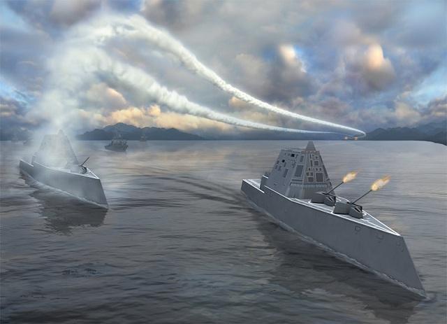 [Info] Mỹ phải từ bỏ pháo điện từ và thay thế bằng tên lửa cho khu trục Zumwalt ảnh 4