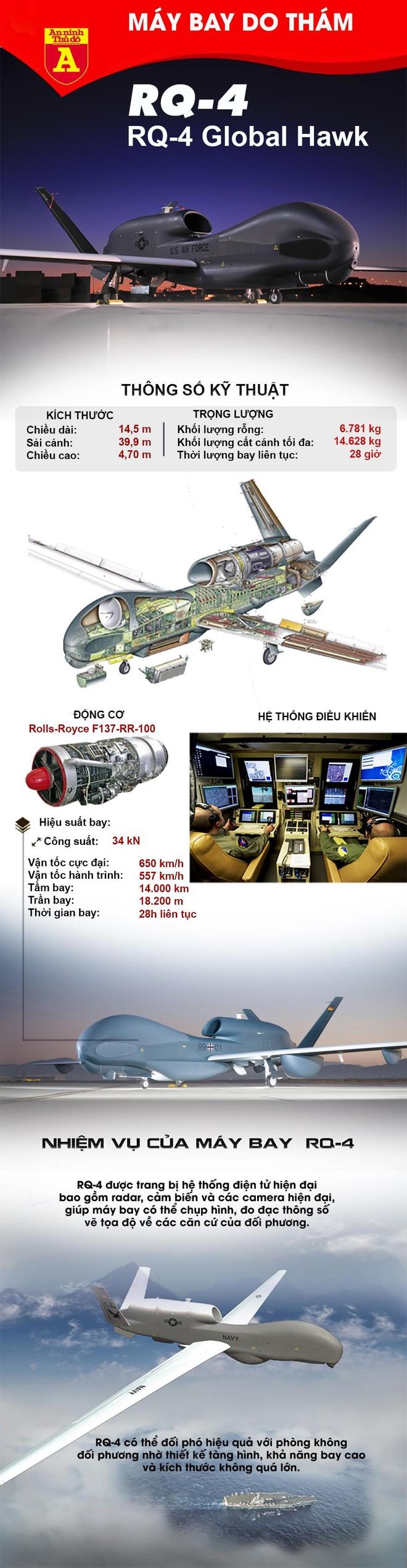 [Info] Mỹ bất ngờ loại biên số lượng lớn 'mắt thần' RQ-4 Global Hawk ảnh 2