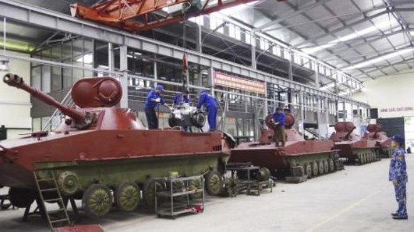[Info] Việt Nam tự nâng cấp xe tăng lội nước PT-76 ảnh 2