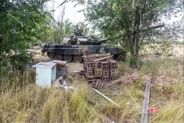 [Info] Sự thật xe tăng T-90 mới của Nga bị 'bỏ rơi' tại bãi rác ảnh 1