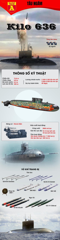 [Info] Nga bất ngờ điều 3 tàu ngầm Kilo 636 mang tên lửa hành trình tới Syria ảnh 2