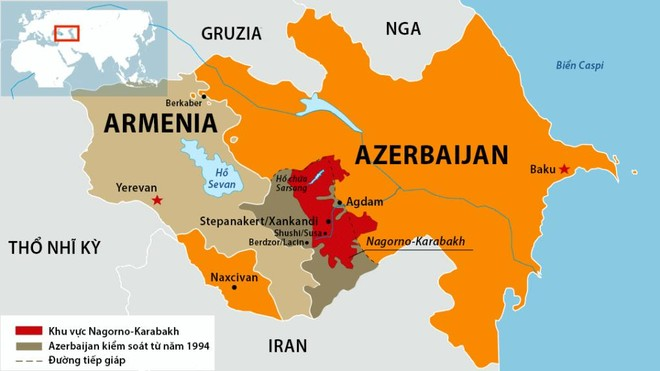 [Info] 'Nữ hoàng bộ binh' BMP-3 Azerbaijan bị xé nát khi trúng đạn pháo Armenia ảnh 2
