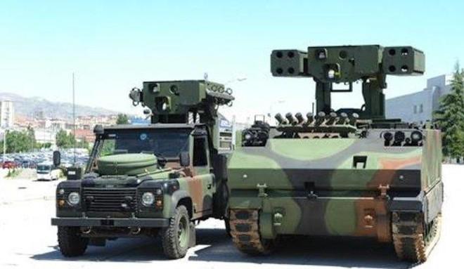 [ẢNH] Hệ thống tên lửa Thổ Nhĩ Kỳ đe dọa bắn rơi cả máy bay Nga tại Syria ảnh 8