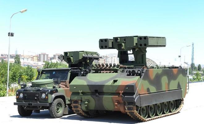 [ẢNH] Hệ thống tên lửa Thổ Nhĩ Kỳ đe dọa bắn rơi cả máy bay Nga tại Syria ảnh 12