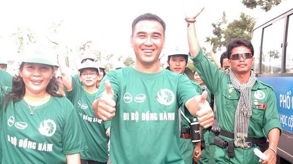 1.000 người đi xuyên Việt đã hoàn thành một nửa lộ trình ảnh 1