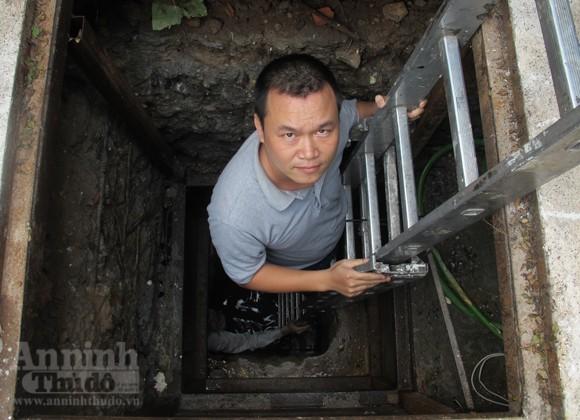 Chui vào từng ngõ ngách căn hầm dưới KS Metropole Hà Nội ảnh 2