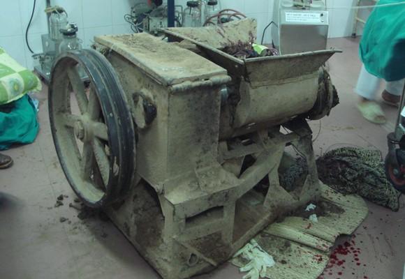 Rợn người với tai nạn lao động ảnh 3