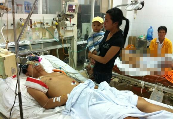 Một CSCĐ bị tông trọng thương khi tuần tra ảnh 1