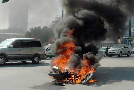 Honda Việt Nam lên tiếng về các vụ cháy xe bất thường