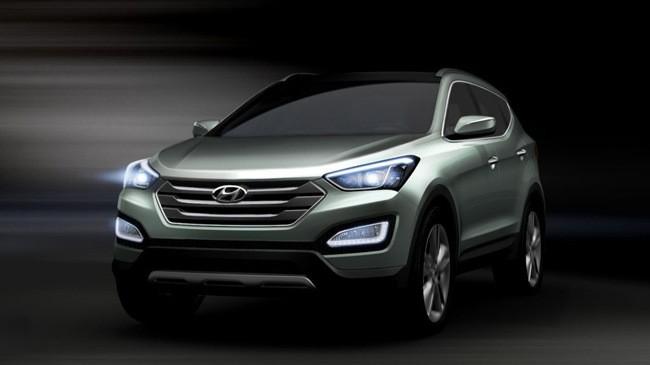 """""""Ảnh nóng"""" Hyundai Santa Fe 2013 ảnh 1"""