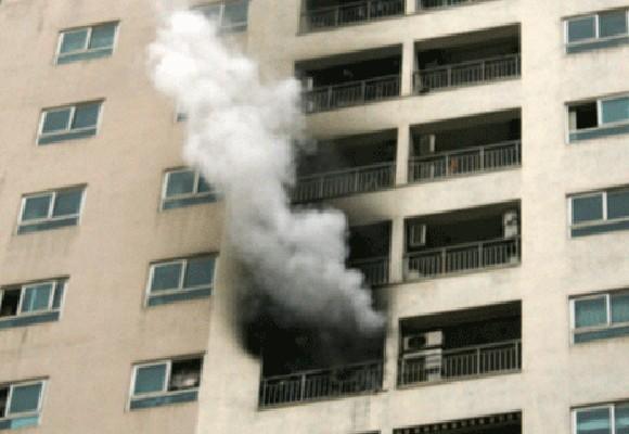 Chung cư 34 tầng, lần thứ 2 phát hỏa ảnh 1