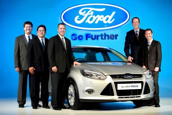 Ngắm Ford Focus phiên bản mới ảnh 1