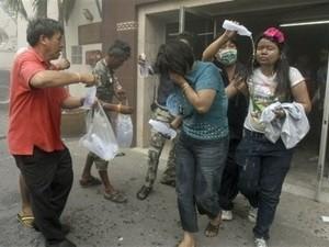 Vụ cháy khách sạn ở Thái Lan là do đánh bom xe ảnh 1