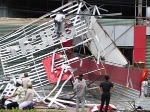 Bão số 1 gây nhiều thiệt hại tại các tỉnh phía Nam ảnh 1