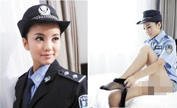 Bị phạt tù vì mặc trang phục cảnh sát để khoe da thịt ảnh 1