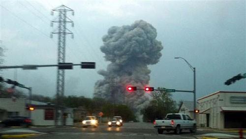Mỹ: Nổ lớn ở nhà máy phân bón, hàng trăm người bị thương ảnh 3