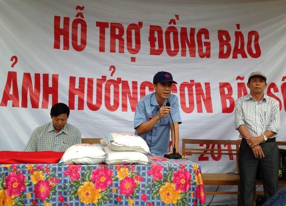 Toyota Việt Nam hỗ trợ đồng bào miền Trung bị bão lũ ảnh 1