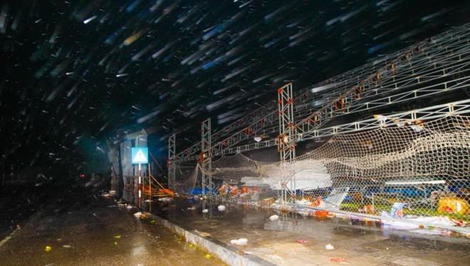 Bão Hải Yến quật ngã tháp truyền hình TP.Uông Bí cao 52m ảnh 4
