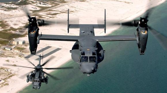 V-22 Ospreys Mỹ dính đạn tại Nam Sudan, 4 lính bị thương ảnh 1
