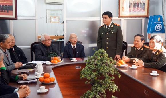 Giám đốc CATP Hà Nội: Thăm, chúc Tết Câu lạc bộ Thăng Long ảnh 2