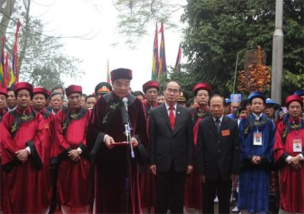 Giỗ tổ Hùng Vương - hội tụ khối đại đoàn kết toàn dân tộc ảnh 2