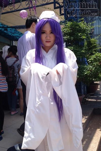 Nóng 40°C, giới trẻ Hà Nội vẫn váy áo lòa xòa, hào hứng Cosplay ảnh 9