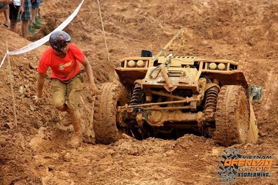 35 đội tranh tài tại giải đua xe địa hình Việt Nam 2014 ảnh 3