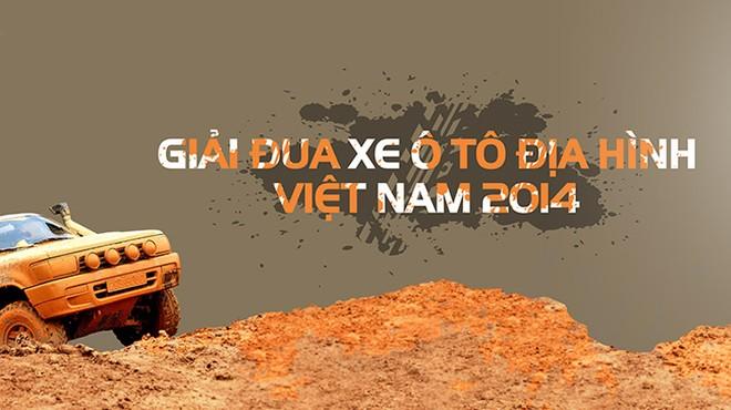 35 đội tranh tài tại giải đua xe địa hình Việt Nam 2014 ảnh 1