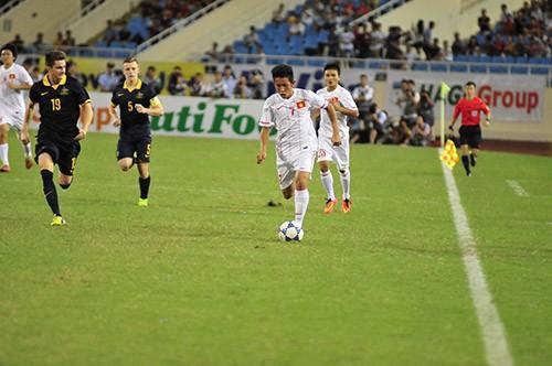 Công Phượng lập siêu phẩm, U19 Việt Nam thắng sát nút U19 Australia ảnh 1
