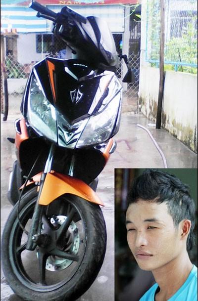 Mới mua xe, Hào Anh bị ngã gẫy chân ảnh 1