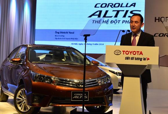Toyota Corolla Altis 2014 có giá chính thức từ 757-944 triệu đồng ảnh 2