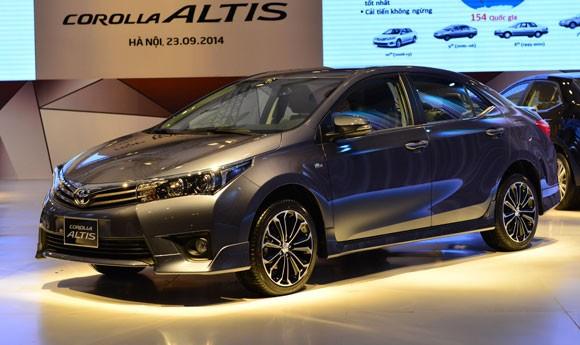 Toyota Corolla Altis 2014 có giá chính thức từ 757-944 triệu đồng ảnh 3