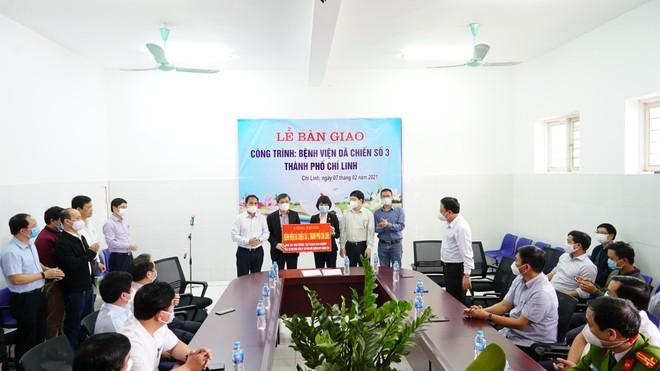 Sun Group chính thức bàn giao bệnh viện dã chiến số 3 tại Hải Dương ảnh 1