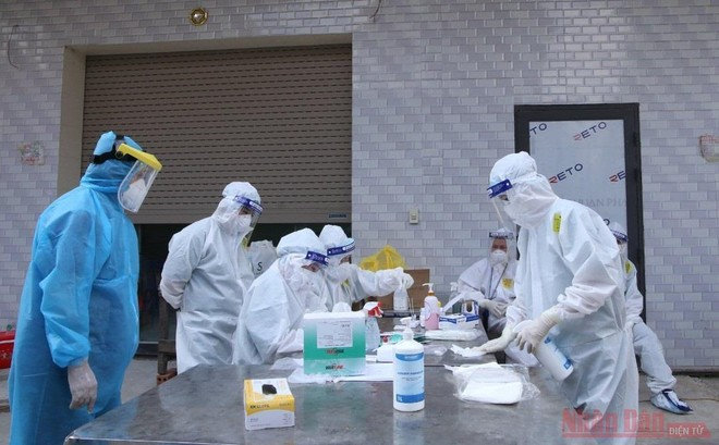 Test nhanh kháng nguyên SARS-CoV-2 do Việt Nam sản xuất có độ nhạy, độ đặc hiệu cao ảnh 2