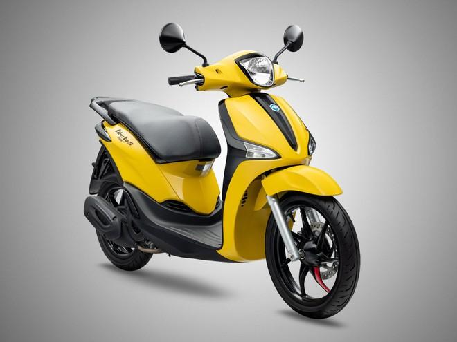 Piaggio Việt Nam ra mắt Liberty S màu mới đầy cá tính ảnh 2
