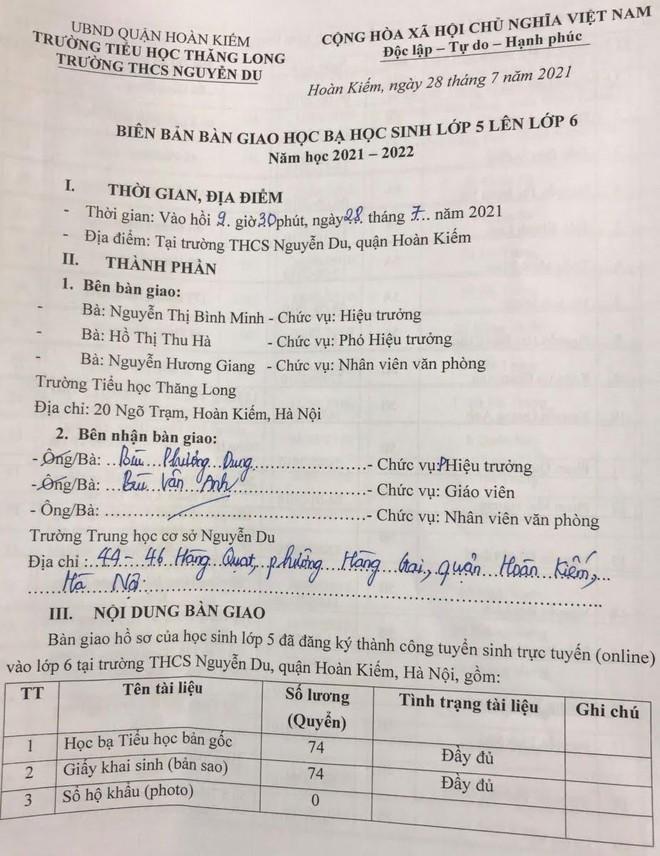 Kinh nghiệm từ quận nội thành duy nhất của Hà Nội giải được bài toán sĩ số ảnh 5