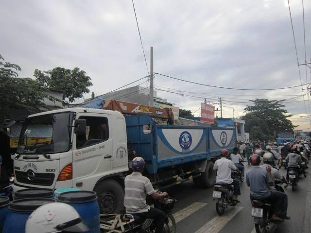 Chiếc xe tải gây tai nạn làm nữ sinh chết thảm