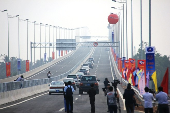 Thông xe cao tốc đoạn Vành đai II - Long Thành- Dầu Giây