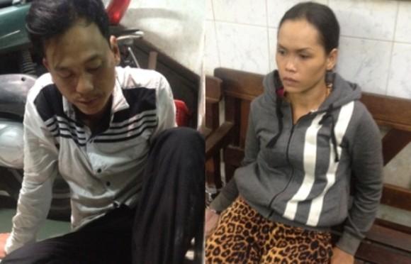 """Cặp vợ chồng """"ăn hàng"""" bị cảnh sát hình sự nổ súng truy bắt ảnh 1"""