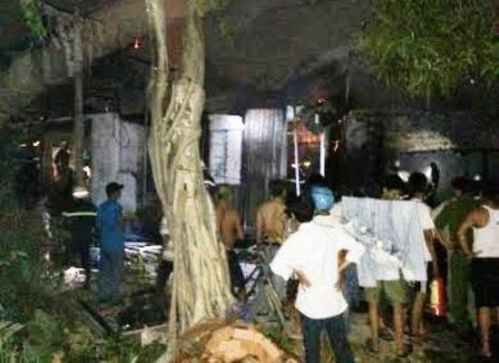 Hỏa hoạn trong đêm, 4 căn nhà bị thiêu rụi ảnh 4