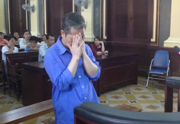 Bị cáo Nguyễn Văn Tiến tại tòa