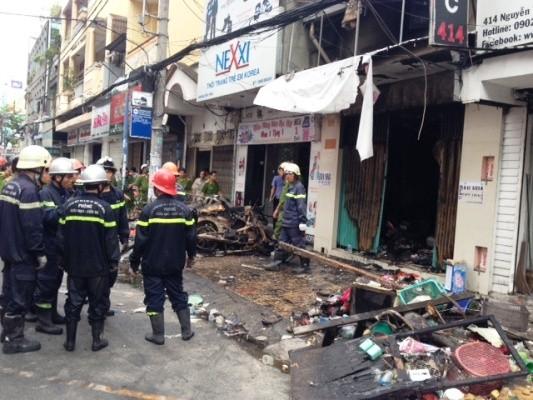 Tp. Hồ Chí Minh: Cháy nhà mặt tiền, 7 người chết ảnh 1