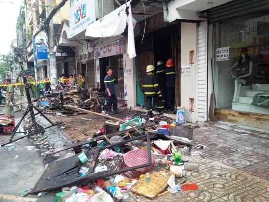 Tp. Hồ Chí Minh: Cháy nhà mặt tiền, 7 người chết ảnh 2